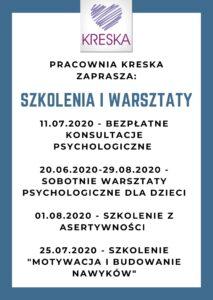 PRACOWNIA KRESKA ZAPRASZA_